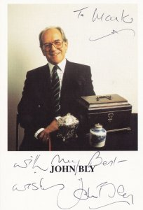 John Bly The Antiques Roadshow Hand Signed Cast Card Photo