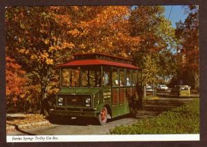 AR Trolley Car Bus EUREKA SPRINGS ARKANSAS Postcard PC