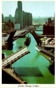 Illinois Chicago River Bridges