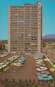 Georgian Towers Hotel, Downtown Vancouver, British Columbia, Canada, 40-60s