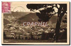 Old Postcard Villard de Lans Isere General view taken Clots
