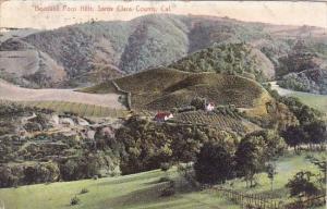 California Santa Clara County Beautiful Foot Hills