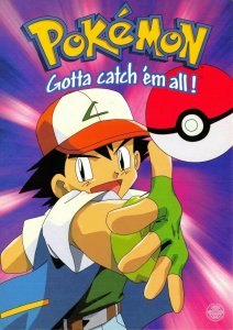 Pokemon Postcard, Ash-Ball Pokemon Character (PC0145) 60V