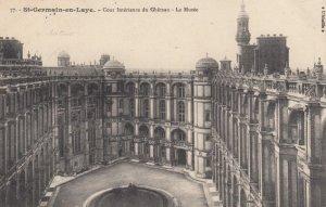 ST-GENMAIN-EN-LAYE,France,1900-1910s, Cour Interieure Du Ghateau - Le Musee