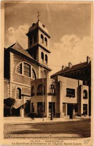 CPA Grenoble Le Syndicat d'Initiative et l'Eglise Saint-Louis (685143)