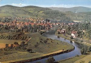 Bluetenstadt Witzenhausen im Werratal Gesamtansicht