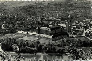 luxemburg, ECHTERNACH, Panorama (1957) Stamp
