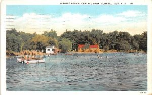 Bathing Beach Schenectady, New York