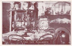 KENILWORTH, Warwickshire, England, United Kingdom, 1910-20s; Cosy Cafe