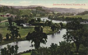 Junction of the Rivers, FRANKLIN, New Hampshire, PU-1908