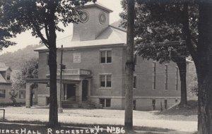 RP: ROCHESTER , Vermont , 1900-10s ; Pierce Hall