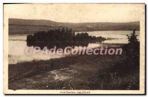 Postcard Old Jura Tourist Lac D'Ilay