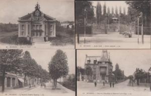 Bethune Theatre Jardin Public Boulevard Place De La Republic 4x French Postcard