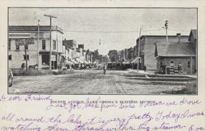 LAKE ODESSA , Michigan , PU-1907 ; Fourth Avenue