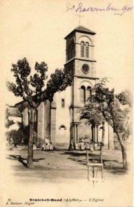 CPA AK Geiser 16 Teniet-El-Haad L'Eglise ALGERIA (756491)