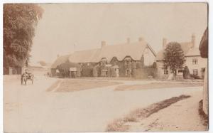 Wiltshire; Shrewton RP PPC 1908 Local PMK, Shows Ivy Dene Hotel & Post Office