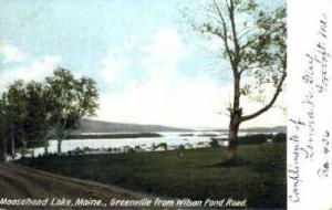 Greenville Moosehead Lake ME 1905