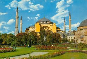 Turkey Istanbul Aya Sofya Muzesi Saint Sophia Museum Postcard