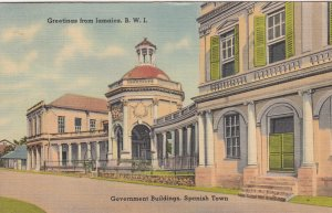 SPANISH TOWN , Jamaica , 1930-40s ; Government Buildings
