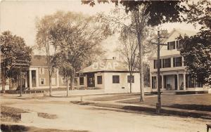 B8/ West Swanzey New Hampshire NH Real Photo RPPC Postcard Post Office Home