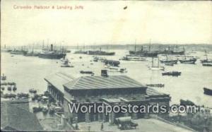 Ceylon, Ceylan, Sri Lanka Colombo Harbour Landing Jetty