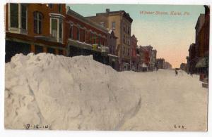 Winter Scene, Kane PA