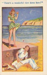Comic Postcard Garland, Rudolf & Co. W111, Seaside Joke, Humour KL9