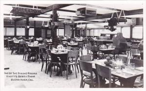 One Of The Dining Rooms Knotts Berry Farm Bugena Park California Real Photo