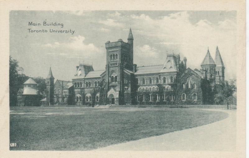 TORONTO , Ontario , 1910-20s ; Main Building, Toronto University