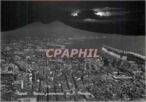 Postcard Modern Napoli Panoramic View of St Martin