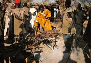 Br45079 pel au Pays Dogon le marche folklore costume mali