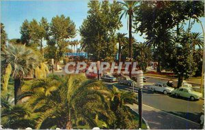 Modern Postcard Cannes (A M) Reflections of the French Riviera La Croisette a...