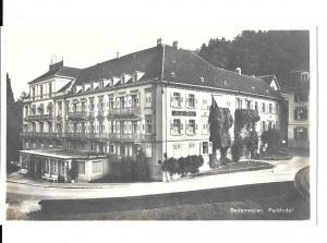 Germany - One postcard Park Hotel  Badenweiler-( postally unused) c 1930 #9007