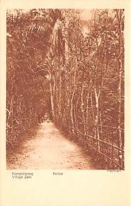 Kedoe Indonesia, Republik Indonesia Village Path Kedoe Village Path