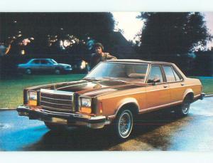 Unused Pre-1980 postcard ad GRANADA CAR BY FORD k8977