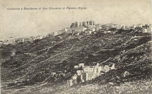 greece, PATMOS Πάτμος, Convento e Residenza di S. Giovanni (1910s) Postcard