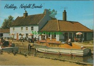 Norfolk Postcard - Hickling, Norfolk Broads RR10382