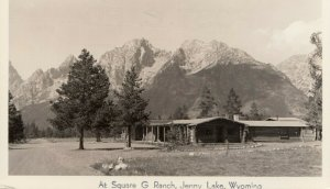 RP; JENNY LAKE, Wyoming, 20-40s; At Square G Ranch # 2