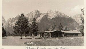 RP; JENNY LAKE, Wyoming, 20-40s; At Square G Ranch # 2