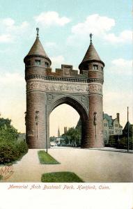 CT - Hartford. Bushnell Park. Memorial Arch