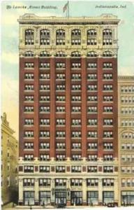 The Lemcke Annex Bilding, Indianapolis, Indiana,PU-00-10s