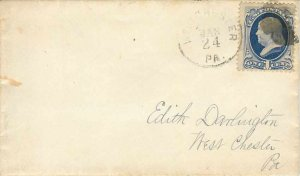 Letter Covers USA 1c for West Chester