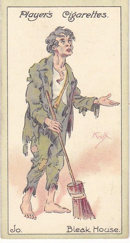 Cigarette Cards Players Characters From Dickens No 48 Jo