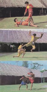Thai Boxing Womens Self Defence 3 Thailand Martial Arts Postcard s
