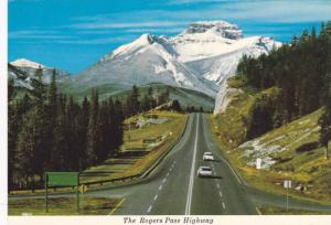 Scenic view, Rogers Pass Highway, B.C.,  Canada,  50-70s