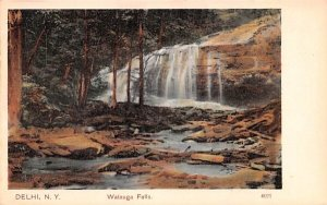 Watauga Falls in Delhi, New York