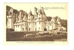 Le Chateau, Vue D'Ensemble, Rigny-Ussé (Indre et Loire), France, 1900-1910s