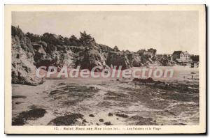 Postcard Old St Marc sur Mer L Inf Cliffs and the Beach