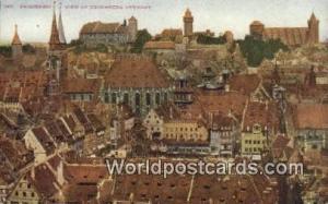 Nuremberg Germany, Deutschland Postcard  Nuremberg