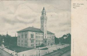 WORCESTER, Massachusetts, 1900-10s; City Hall